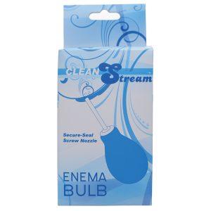 Clean Stream Enema Bulb - Blue