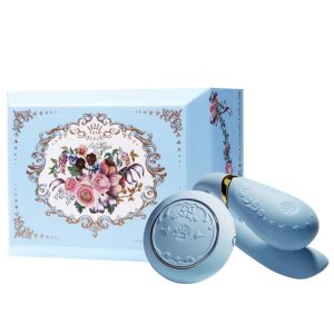 Zalo Versailles Fanfan Set - Royal Blue