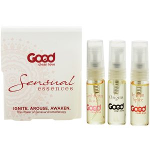 Good Clean Love Sensual Essences Kit - Natural Aphrodisiac Love Oils