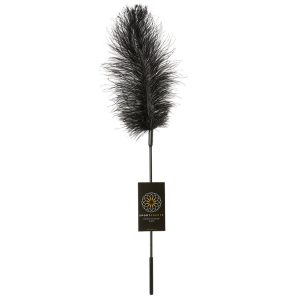 Sportsheets Ostrich Tickler-Black