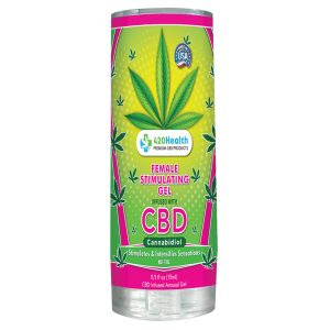 420 Health Female Stimulating Gel With CBD