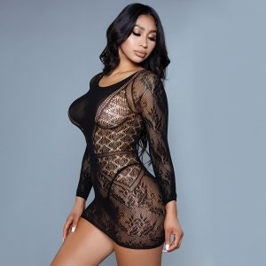 BeWicked Turn Your Lights Off Bodystocking